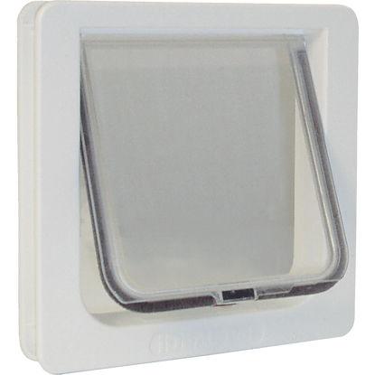 Picture of Ideal Pet 6-1/4 In. x 6-1/4 In. Small Plastic White Pet Door