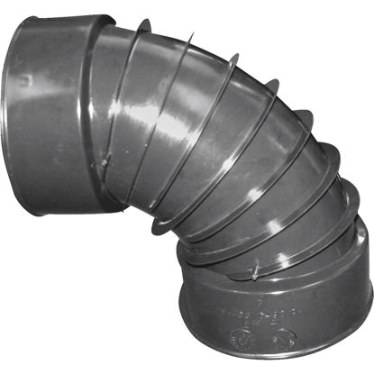 Picture of Advanced Basement 3 In. 90 deg Plastic Corrugated Elbow