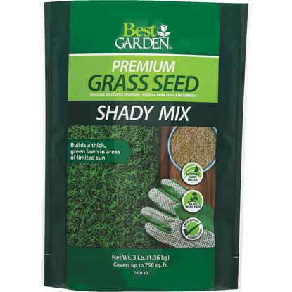 Picture of Best Garden 3 Lb. 900 Sq. Ft. Coverage Shady Grass Seed