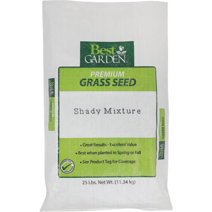 Picture of Best Garden 25 Lb. 7500 Sq. Ft. Coverage Shady Grass Seed