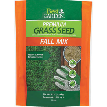 Picture of Best Garden 3 Lb. 750 Sq. Ft. Coverage Fall Mix Grass Seed