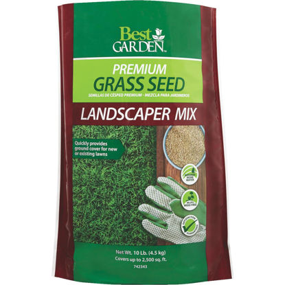 Picture of Best Garden 10 Lb. 1500 Sq. Ft. Coverage Sun to Partial Shade Grass Seed