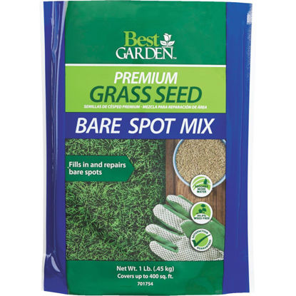 Picture of Best Garden 1 Lb. 250 Sq. Ft. Coverage Ryegrass, Red Fescue, & KY Bluegrass Grass Seed