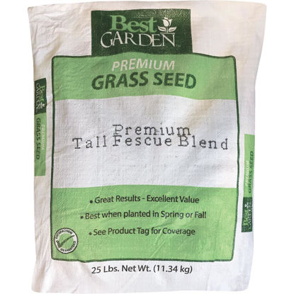 Picture of Best Garden 25 Lb. 4500 Sq. Ft. Coverage Sun to Partial Shade Grass Seed