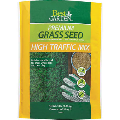 Picture of Best Garden 3 Lb. 900 Sq. Ft. Coverage High Traffic Grass Seed