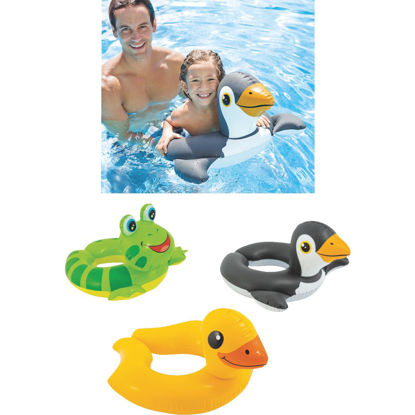 Picture of Intex Assorted Animal Split Ring Pool Float