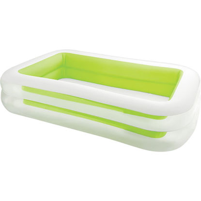 Picture of Intex 69 In. W. x 103 In. L. x 22 In. D. Green Vinyl Family Inflatable Swimming Pool