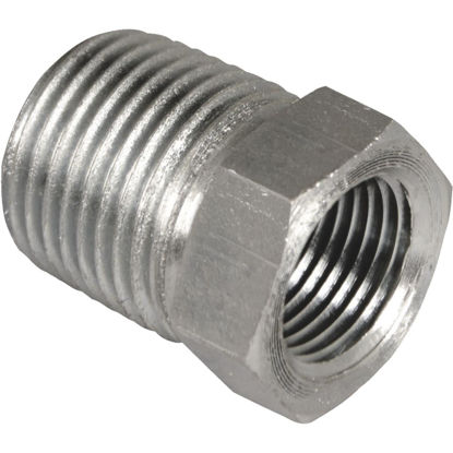 Picture of Apache 1/2 In. Male Pipe x 3/8 In. Female Pipe Reducer Bushing Hydraulic Hose Adapter