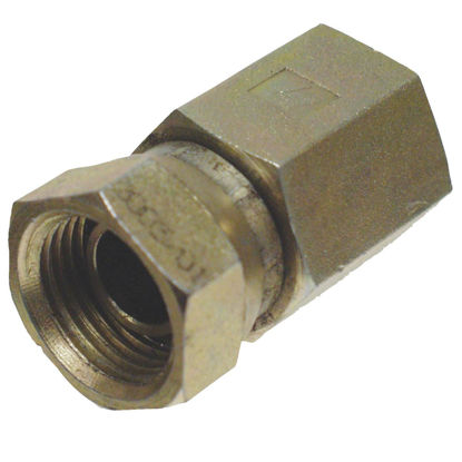 Picture of Apache 1/2 In. Female Pipe Swivel x 1/2 In. Female Pipe Swivel Straight Hydraulic Hose Adapter