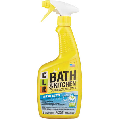 Picture of CLR 26 Oz. Foaming Action Bath & Kitchen Cleaner
