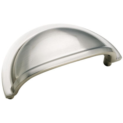 Picture of Amerock Advantage Sterling Nickel Traditional 3 In. Cabinet Pull