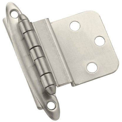 Picture of Amerock Non Self-Closing Satin Nickel Inset Hinge