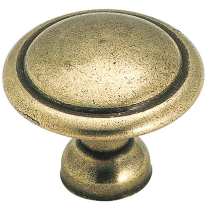 Picture of Amerock Allison Antique Brass 1-3/8 In. Cabinet Knob