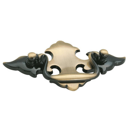 Picture of Amerock Allison Antique Brass Bail 2-1/2 In. Cabinet Pull