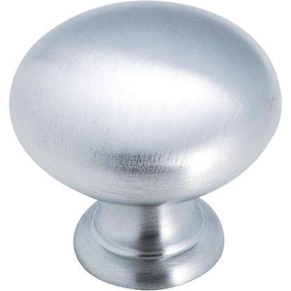Picture of Amerock Allison Brushed Chrome 1-1/4 In. Cabinet Knob
