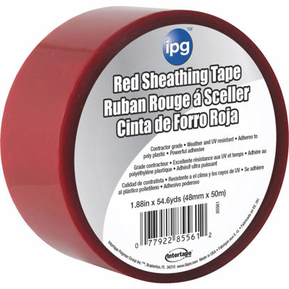 Picture of IPG 1.89 In. x 55 Yds. Red Sheathing Tape