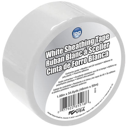 Picture of IPG 1.89 In. x 55 Yds. White Sheathing Tape