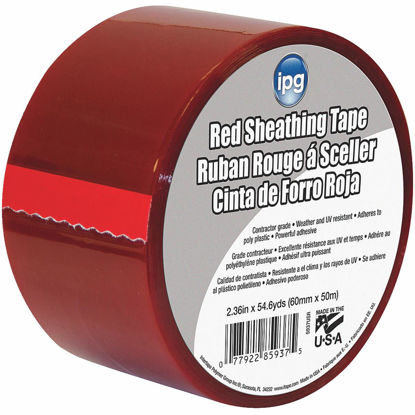 Picture of IPG 2-1/2 In. x 55 Yds. Red Sheathing Tape