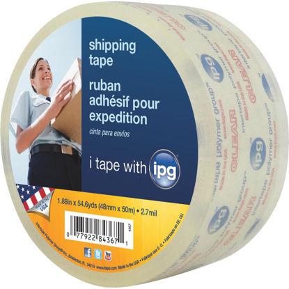 Picture of IPG 1.88 In. x 54.6 Y. Clear Sealing Tape