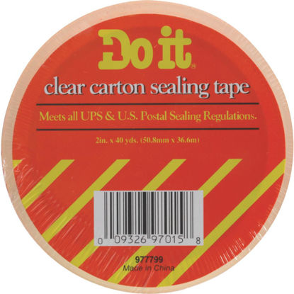 Picture of Do It 1.88 In. X 54.6 Yd. Clear Sealing Tape