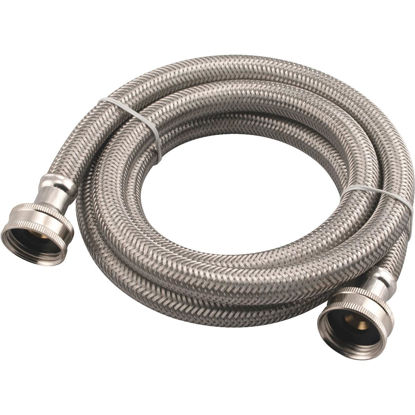 Picture of B&K 5 Ft. Stainless Steel 125 psi Washing Machine Hose