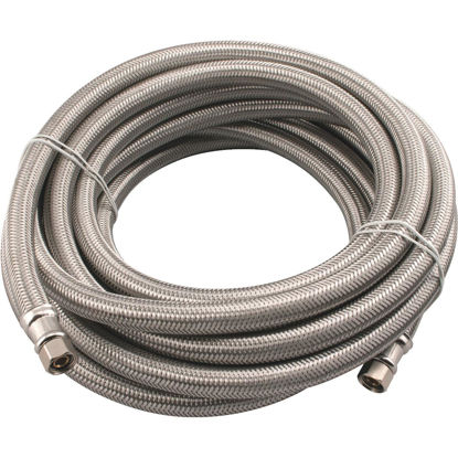 Picture of B&K 1/4 In. x 20 Ft. Ice Maker Connector Hose