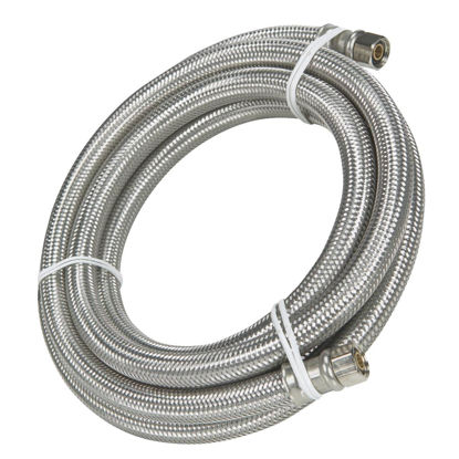 Picture of B&K 1/4 In. x 6 Ft. Ice Maker Connector Hose