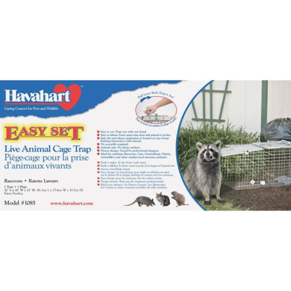 Picture of Havahart Easy Set Galvanized Steel 32 In. Live Raccoon Trap