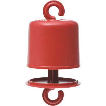 Picture of Perky-Pet Red Plastic Hummingbird Feeder Ant Guard