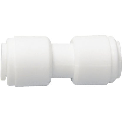 Picture of Watts 3/8 In. x 3/8 In. OD Tubing Quick Connect Plastic Coupling