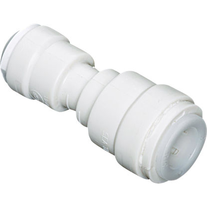 Picture of Watts 1/2 In. x 3/8 In. OD Tubing Quick Connect Plastic Coupling