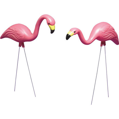 Picture of Bloem Pink Flamingo Lawn Ornament (2-Pack)