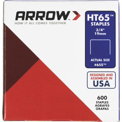 Picture of Arrow HT65 Hammer Tacker Staple, 3/4 In. (600-Pack)