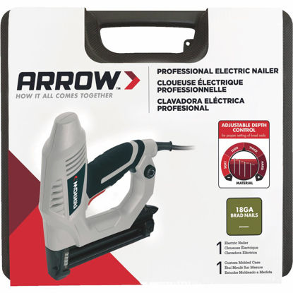 Picture of Arrow 18-Gauge Heavy-Duty Electric Brad Nailer