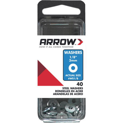 Picture of Arrow 1/8 In. Steel Rivet Washer (40-Pack)