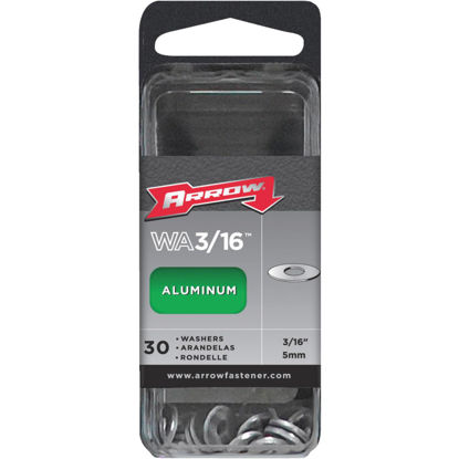 Picture of Arrow 3/16 In. Aluminum Rivet Washer (30-Pack)