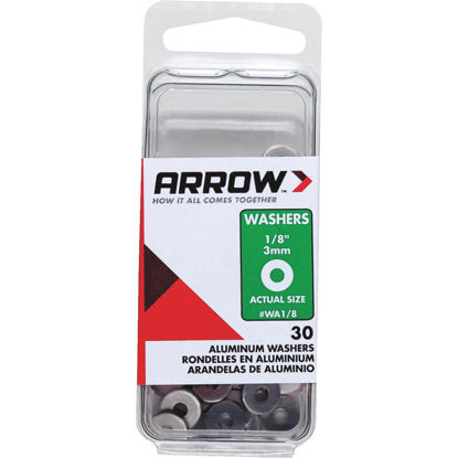 Picture of Arrow 1/8 In. Aluminum Rivet Washer (30-Pack)