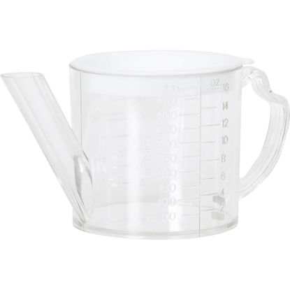 Picture of Norpro 2 Cup Clear Plastic Separator & Strainer Measuring Cup
