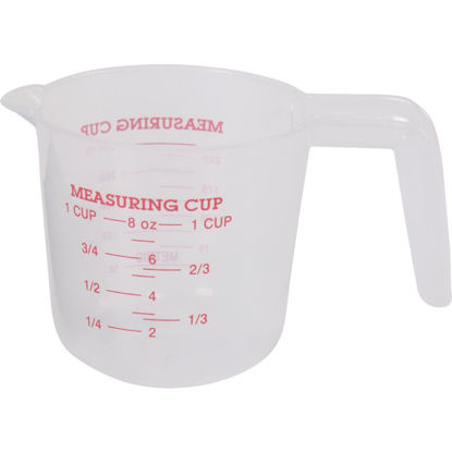 Picture of Norpro 1 Cup White Plastic Measuring Cup