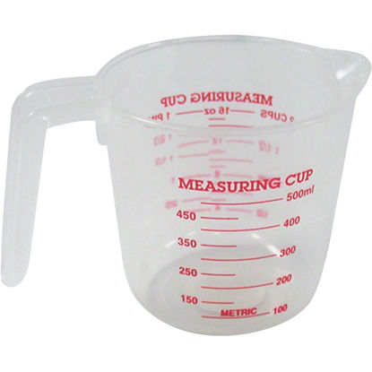 Picture of Norpro 2 Cup White Plastic Measuring Cup