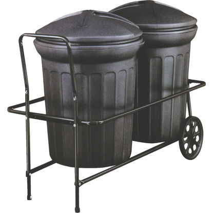 Picture of Behrens Steel Trash Can Hand Cart