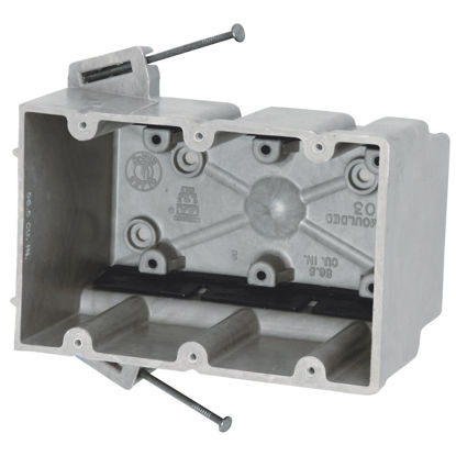 Picture of Allied Moulded fiberglassBOX 3-Gang Wall Box