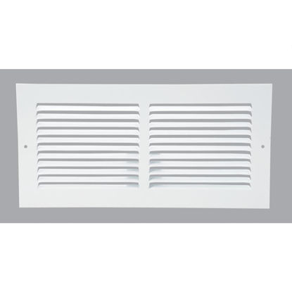 Picture of Home Impressions 6 In. x 14 In. Stamped Steel Return Air Grille