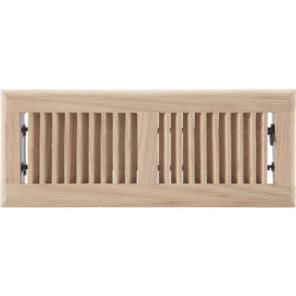 Picture of Home Impressions 4 In. x 12 In. Natural Oak Floor Register
