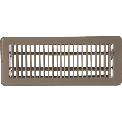 Picture of Home Impressions 2-1/4 In. x 12 In. Brown Steel Floor Register