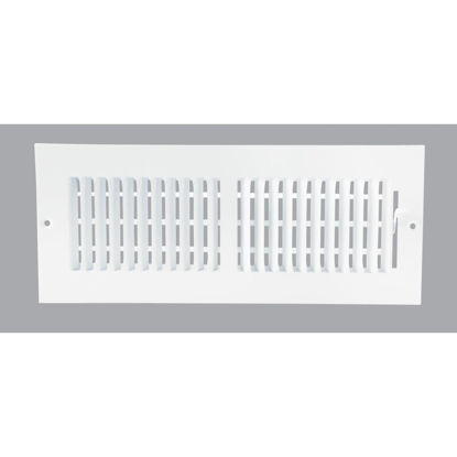Picture of Home Impressions White Steel 5.75 In. Wall Register