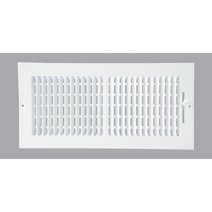 Picture of Home Impressions White Steel 7.76 In. Wall Register