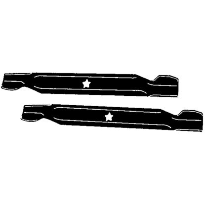 Picture of Arnold 21 In. Replacement Tractor Mower Blade Set
