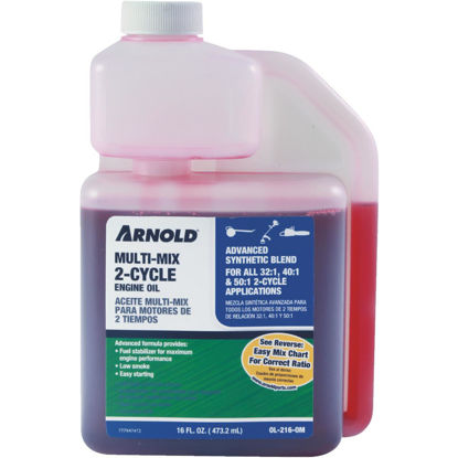 Picture of Arnold 16 Oz. Synthetic Blend Multi-Mix 2-Cycle Motor Oil