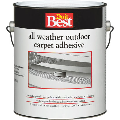 Picture of Do it Best All Weather Outdoor Carpet Adhesive, Gallon